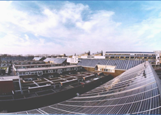 Ontmanteling zonnestroom installatie Nieuw Sloten