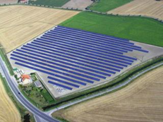 Duurzame energie in waterbergingsgebieden